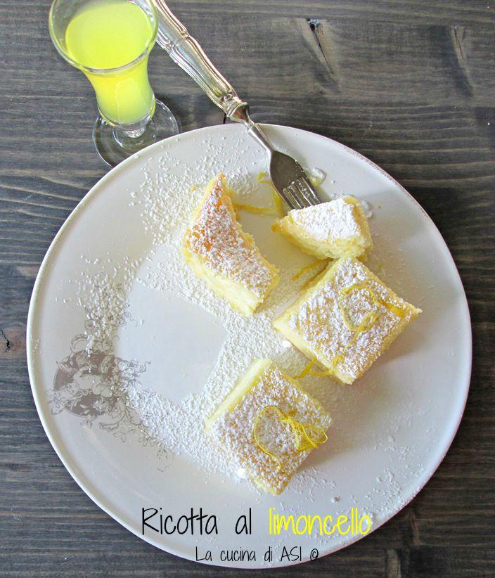 ricotta al limoncello La cucina di ASI ©