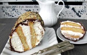 torta fredda panna cioccolato blog La cucina di ASI © 2015