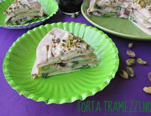 TORTA TRAMEZZINO Ricetta antipasto salato