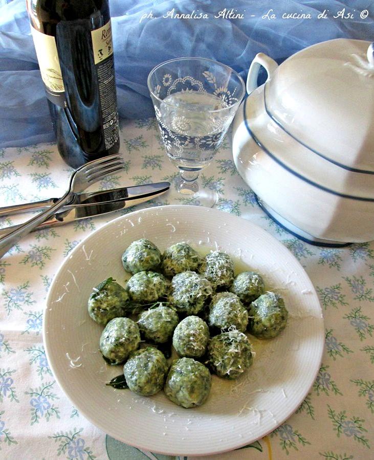 GNOCCHI SPINAcI RICOTTA Blog La cucina di ASI ©-
