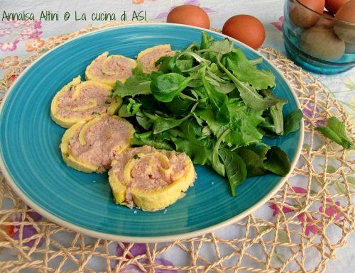 ROTOLO DI FRITTATA Ricetta salata