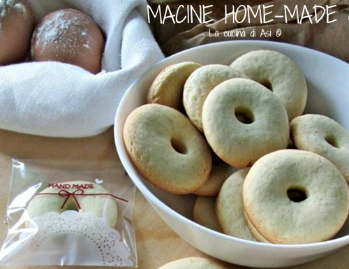 MACINE HOME-MADE Ricetta biscotti dolci