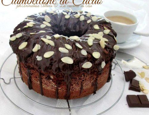 CIAMBELLONE AL CACAO Ricetta dolce