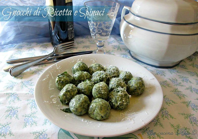 gnocchi ricotta spinaci La cucina di ASI © BLOG