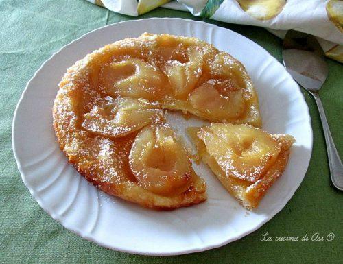 Torta rovesciata alle pere -Ricetta dolce