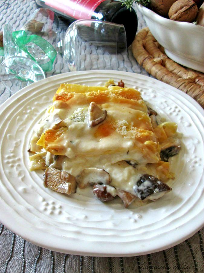 la teglia-di-lasagne-funghi-noci-crescenza-La-cucina-di-ASI-©