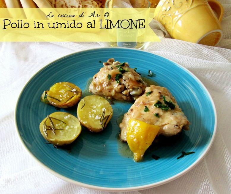 pollo in umido al limone La cucina di ASI © blog
