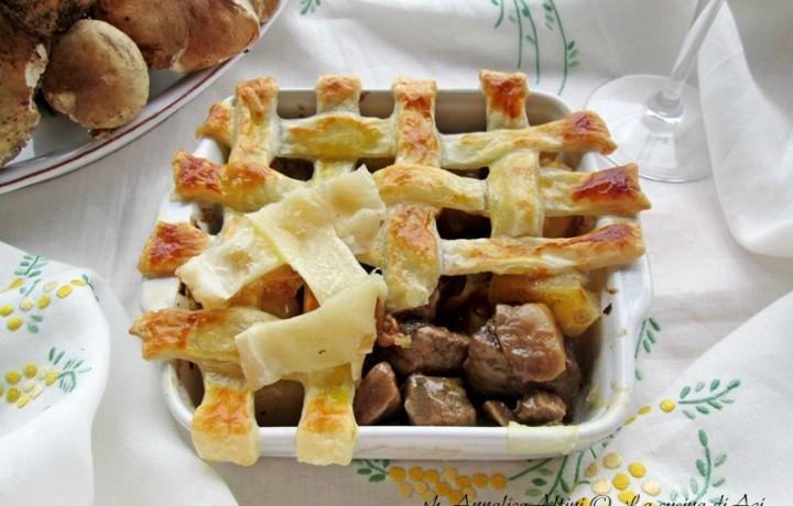 SPEZZATINO DI VITELLO IN GABBIA Ricetta secondo piatto di carne