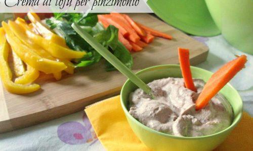 CREMA DI TOFU PER PINZIMONIO Ricetta salata