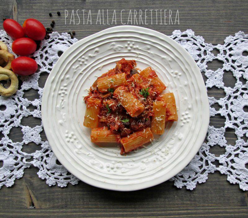 pasta alla carrettiera Blog La cucina di ASI ©