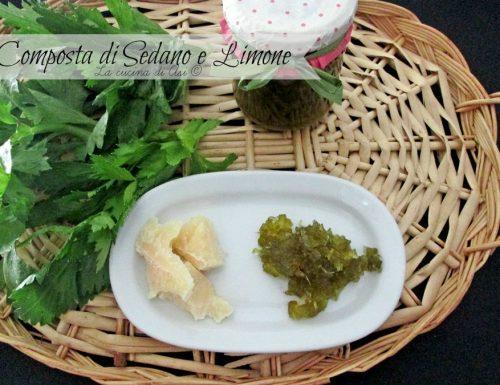 Composta di sedano e limone-Ricetta conserva casalinga