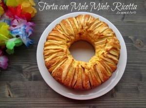 torta ricotta miele mele blog La cucina di ASI