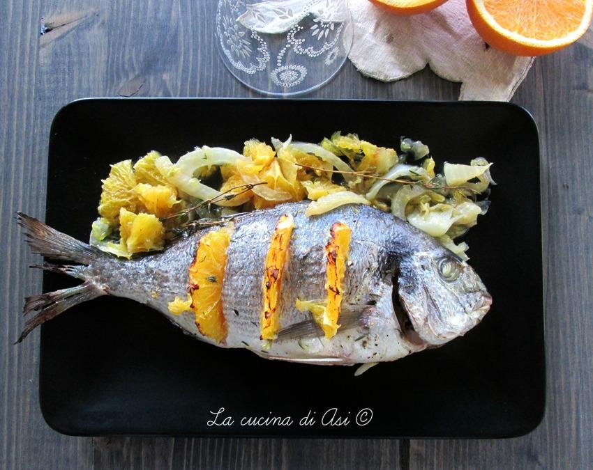 Orata Con Finocchio E Arancia Secondo Di Pesce Al Forno La Cucina
