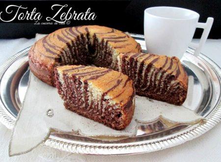 TORTA ZEBRATA Ricetta dolce