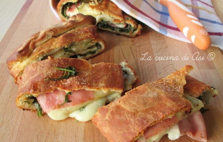 ROTOLO SALATO CON RUCOLA E MORTADELLA Ricetta torta salata