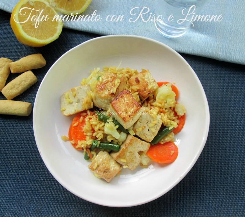 tofu marinato La cucina di ASI
