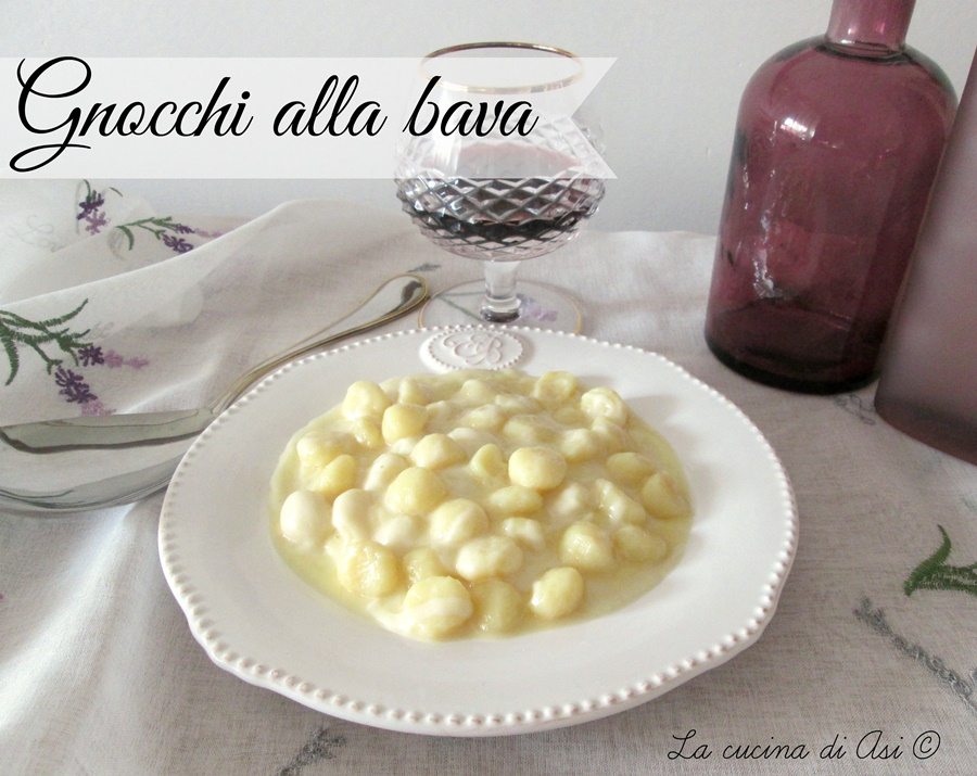 gnocchi alla bava La cucina di ASI ©