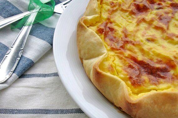 TORTA SALATA SALMONE E PATATE Ricetta salato