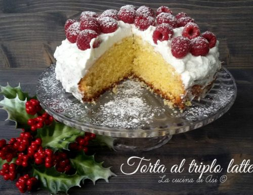 TORTA AL TRIPLO LATTE Ricetta dolce