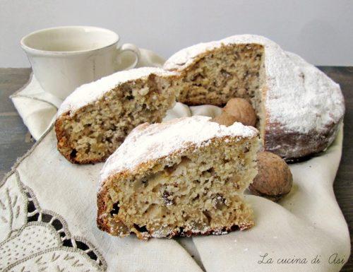 TORTA CON NOCI YOGURT E MIELE Ricetta dolce