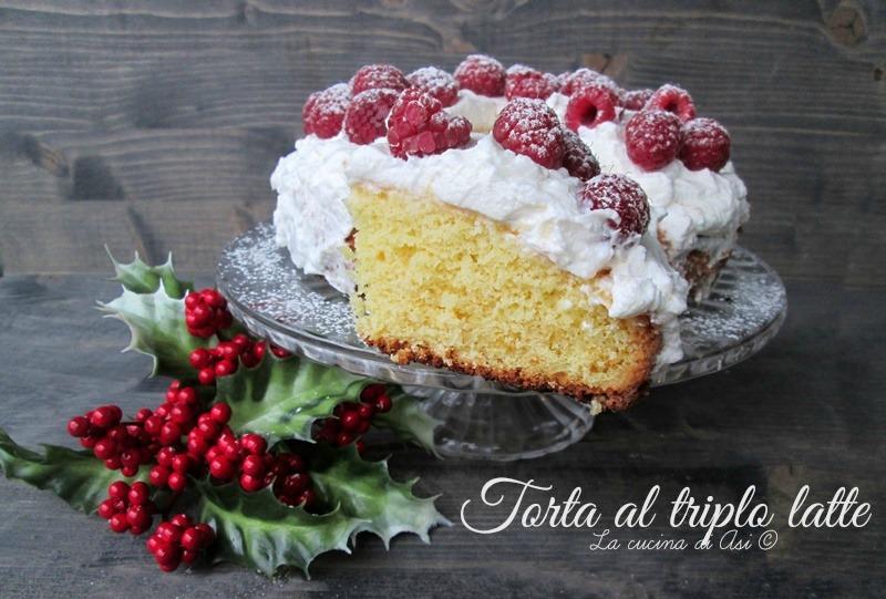 torta triplo latte La cucina di ASI © blog 2015