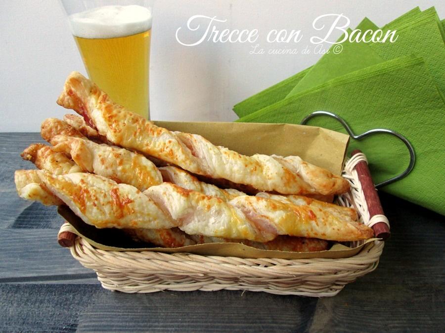 trecce con bacon La cucina di ASI © blog