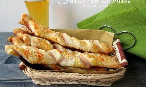 TRECCE CON BACON Ricetta salato