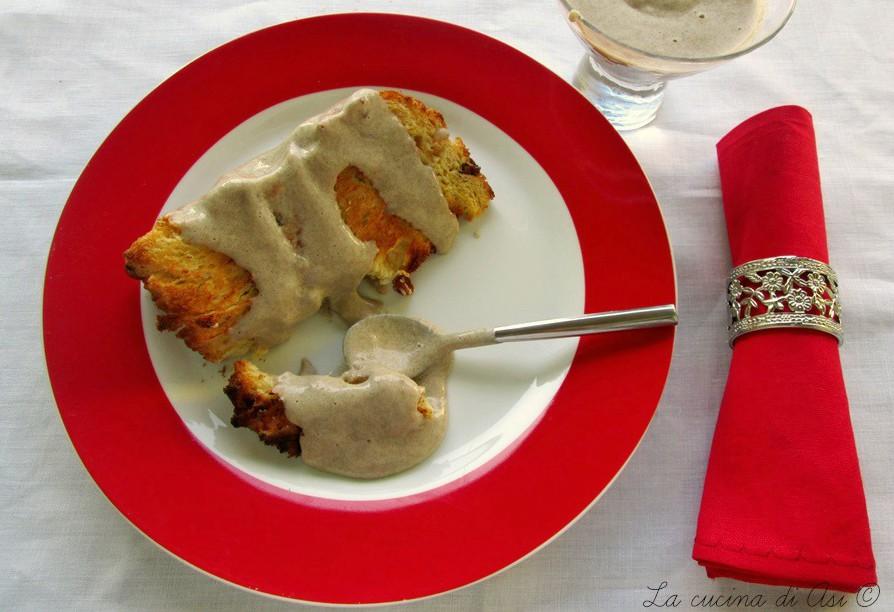 Panettone tostato con crema rossumata