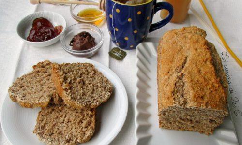 CAKE INTEGRALE AL MIELE Ricetta per la colazione