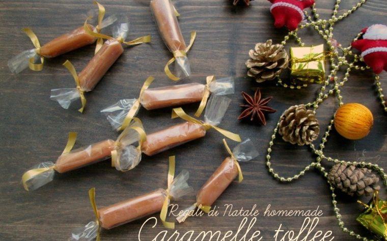 REGALI DI NATALE  CARAMELLE TOFFEE Ricetta homemade
