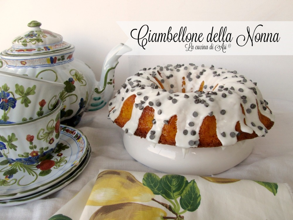 Ciambellone della nonna ricetta per la colazione for Cucina della nonna