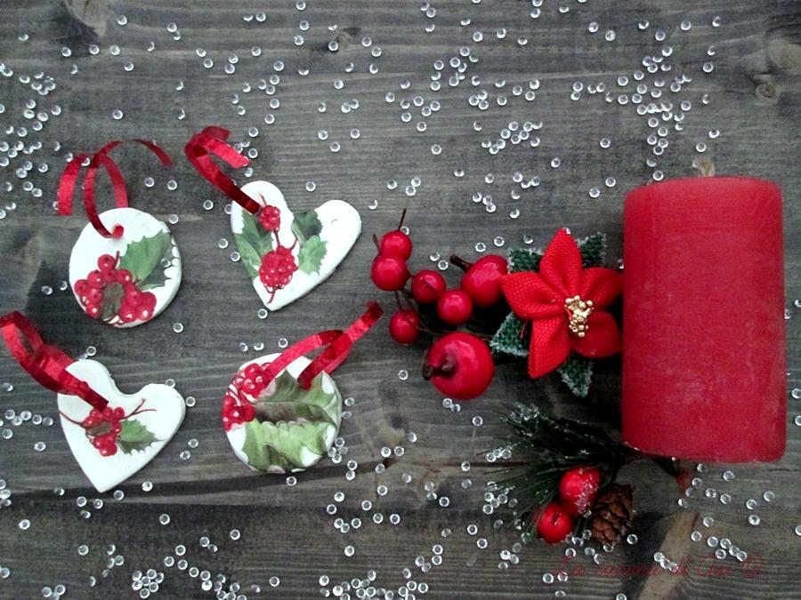 Decori pasta di bicarbonato ricetta homemade for Decorazioni natalizie con la pasta