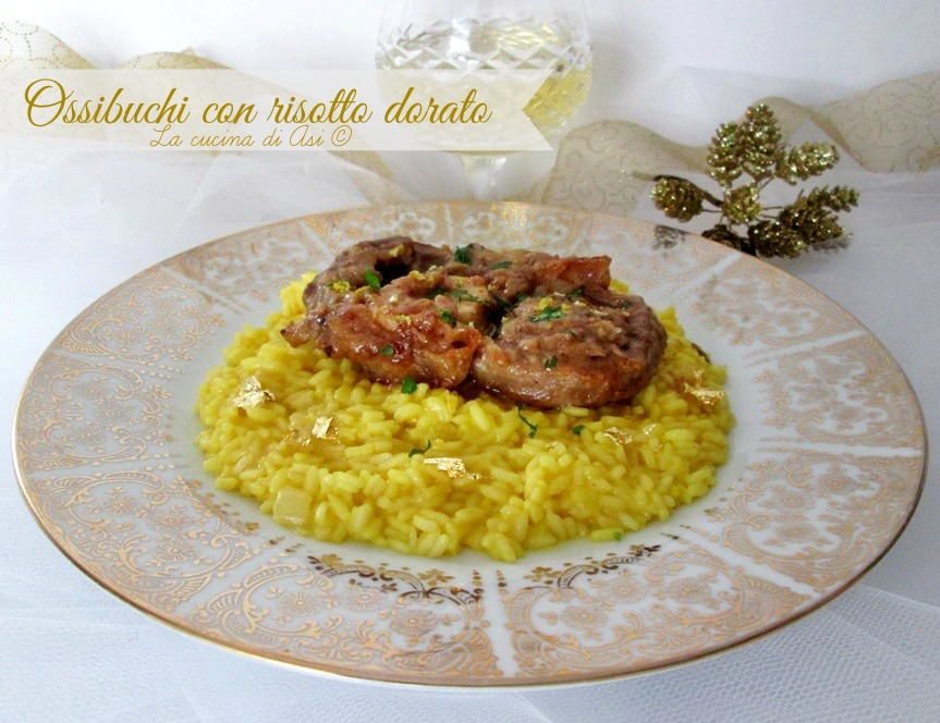ossibuchi con risotto dorato