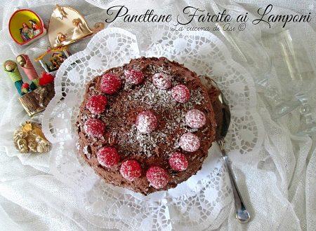 PANETTONE FARCITO AI LAMPONI Ricetta natalizia