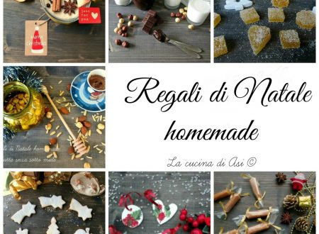 RACCOLTA REGALI DI NATALE  HOMEMADE