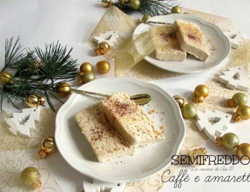 SEMIFREDDO CAFFE' E AMARETTI Ricetta golosa