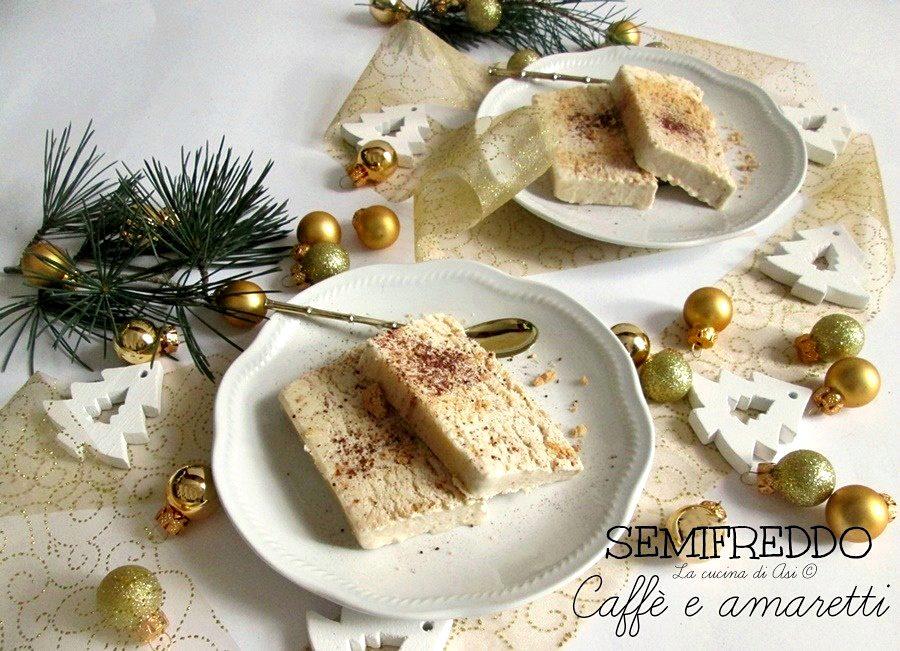 Semifreddo caffe ed amaretto
