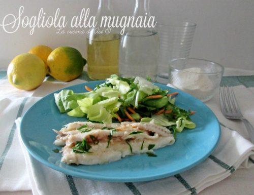 SOGLIOLA ALLA MUGNAIA Ricetta secondo di pesce
