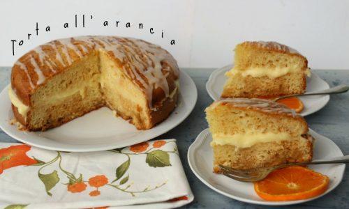 TORTA ALL'ARANCIA Ricetta dolce
