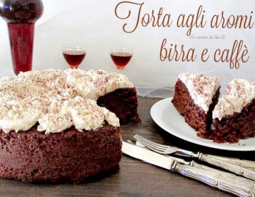 TORTA AGLI AROMI DI BIRRA E CAFFE' Ricetta golosa