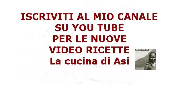 IN ARRIVO LE VIDEO RICETTE ^_^