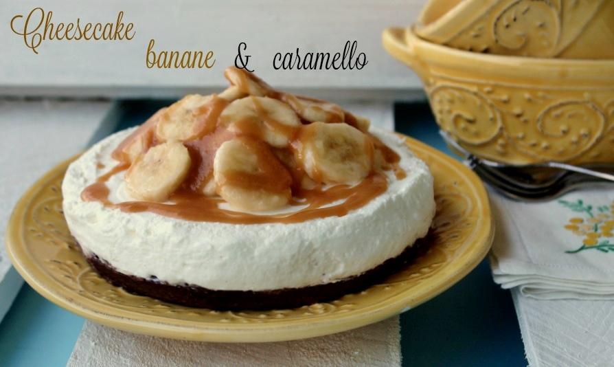 cheesecake banana caramello