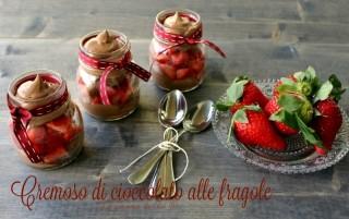 cremoso di cioccolato alle fragole