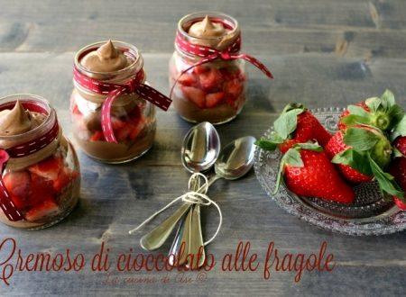 Cremoso al cioccolato con fragole  Ricetta golosa