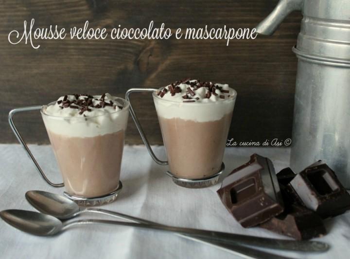 mousse cioccolato mascarpone
