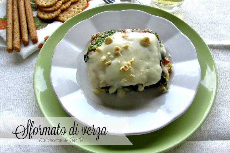 SFORMATO DI VERZA Ricetta torta salata