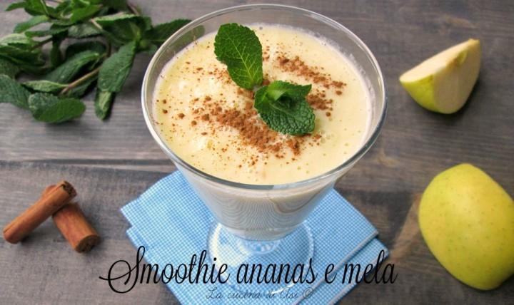 smoothie di ananas mela L