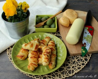 cannoncini al formaggio