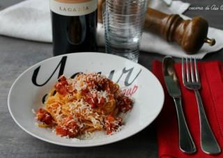 spaghetti pancetta zafferano ©