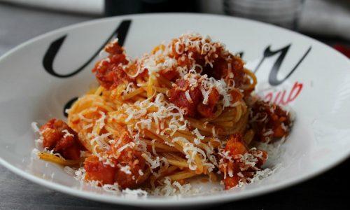 SPAGHETTI PANCETTA E ZAFFERANO Ricetta primo gustoso